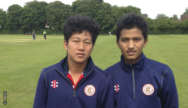 Nepal's Young Cricketers