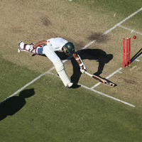 Robert Cianflone Amla run out