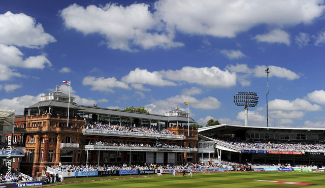 The Pavilion End at Lord's