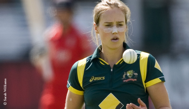Ellyse Perry at Lord's in 2013