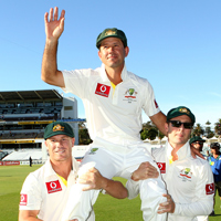Ponting retires from Test cricket