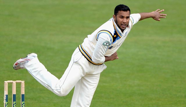 Adil Rashid was too much for Middlesex on day four at Scarborough