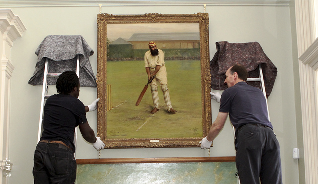 The re-hang is part of Lord's Ground's Bicentenary celebrations