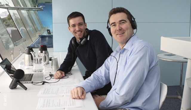 Cricketer Editor Miller co-hosts Lord's podcast