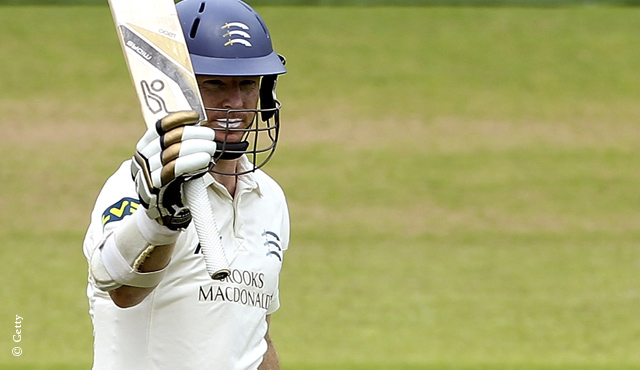 Chris Rogers hit 86 after being asked to bat at by opposition captain