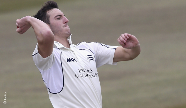 Middlesex seamer Toby Roland-Jones