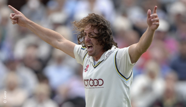 Ryan Sidebottom impressed for Yorkshire