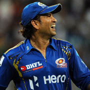 Sachin Tendulkar of the Mumbai Indians