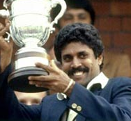 After West Indies were 50/1 in pursuit of 183 in the 1983 World Cup Final the trophy seemed to be heading towards the Caribbean, but three wickets apiece from Mohinder Amarnath and Madan Lal turned the game on it's head, as India won by 43 runs.