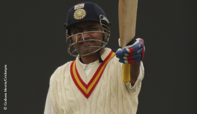 Virender Sehwag reaches three figures for MCC