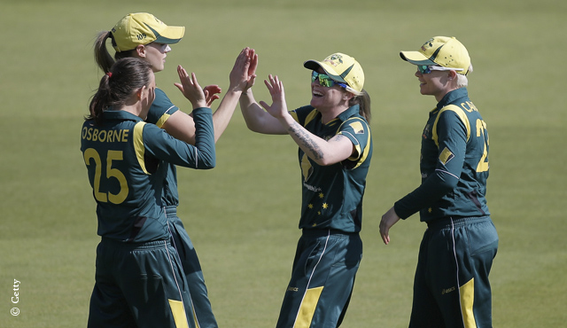 Southern Stars strangle England to win ODI