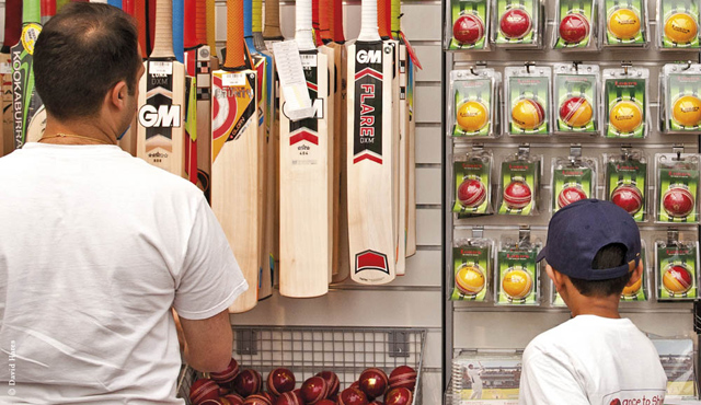 The Lord's Cricket store