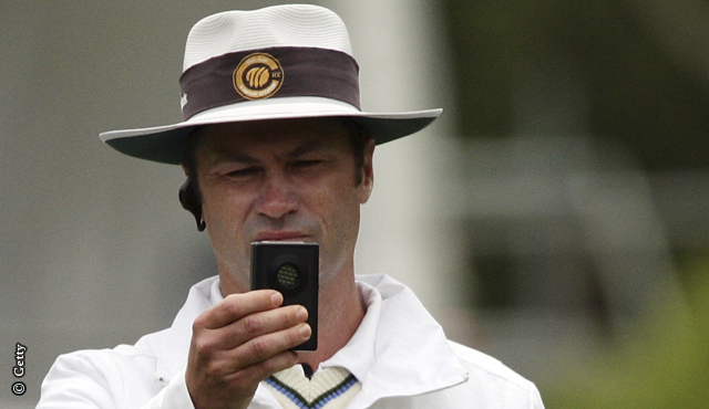 Simon Taufel officiated in 74 Test matches
