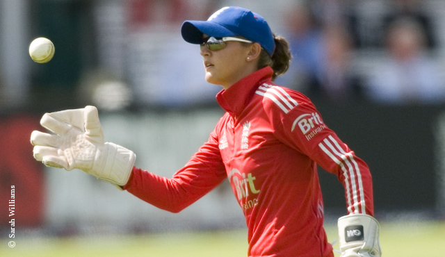 Sarah Taylor at Lord's in 2013