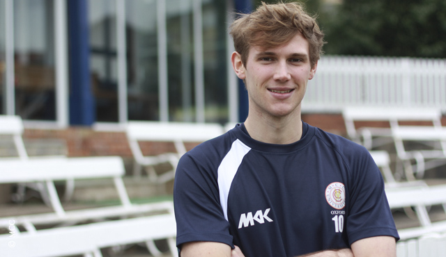 Oxford MCCU student Jamie Thompson