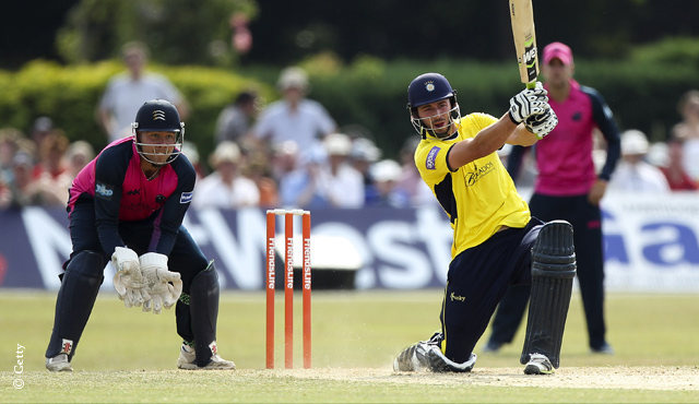 Middlesex beaten by Hampshire at Richmond
