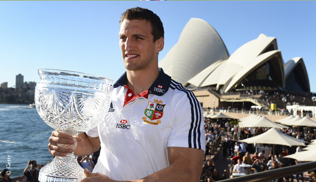 Lions captain Warburton is one of the star attractions