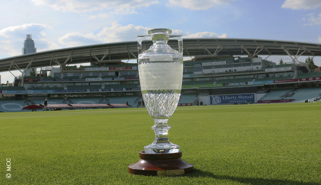 What is the Ashes trophy?