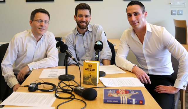 Lawrence Booth, Will Roe and Simon Jones record a Wisden flavoured podcast