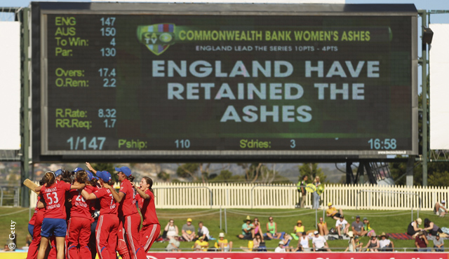 England Women retain the Ashes in Hobart