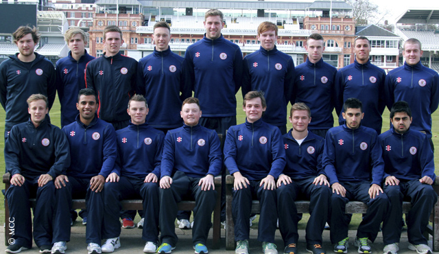2013's MCC Young Cricketers unveiled