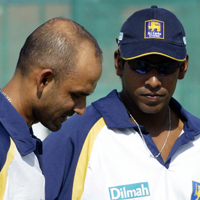 Chaminda Vaas and Marvan Atapattu