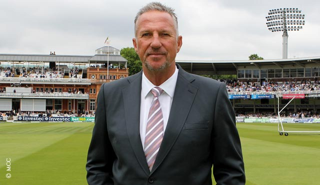 Ian Botham will deliver the speech live on 3 September