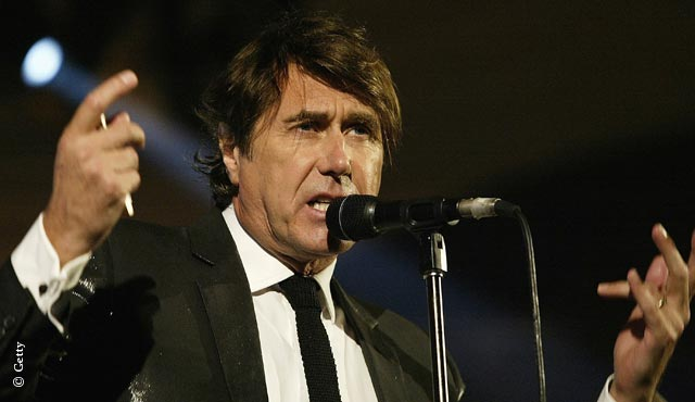 Bryan Ferry is the star attraction