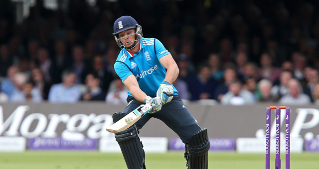 Jos Buttler on his way to a breath-taking century