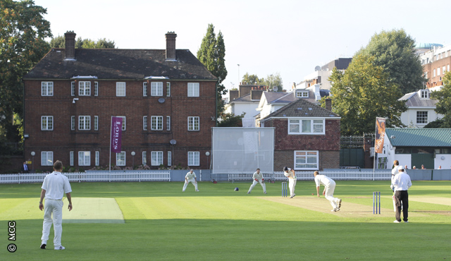 A Cross Arrows match on the Nursery Pavilion