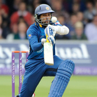 Sri Lankan opener Tillakaratne Dilshan scored 72 as Sri Lanka made 300/9