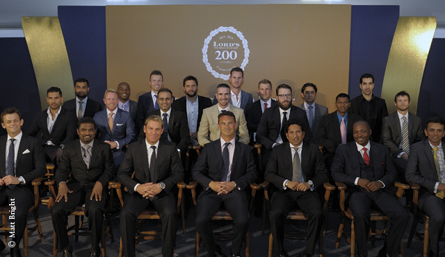 Players posed for a picture during the gala event