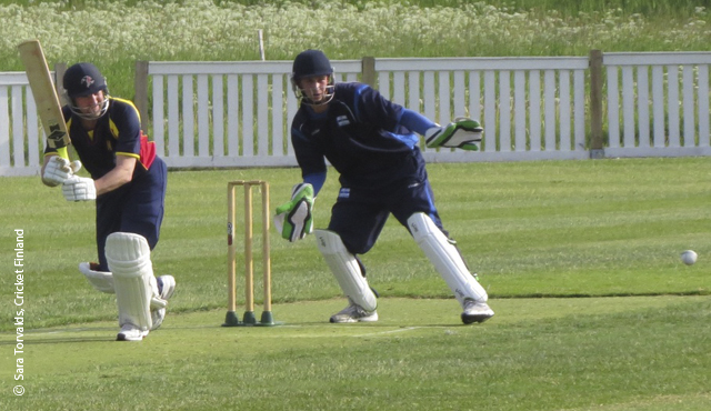 MCC in action against Finland in a T20