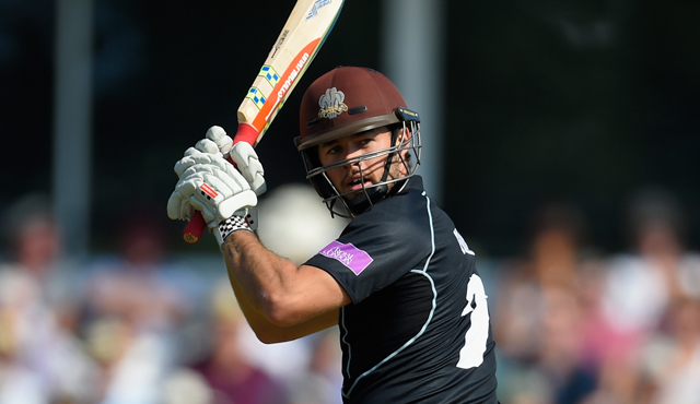 Ben Foakes was the star man for Surrey