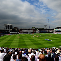 view from the Lord's Edrich Stand