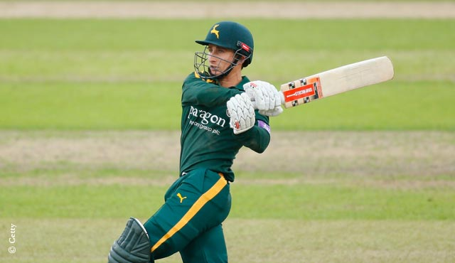 James Taylor has been in form for Notts