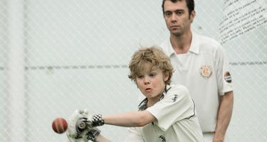 MCC Foundation kids cricketers