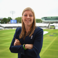 Heather Knight at Lord's