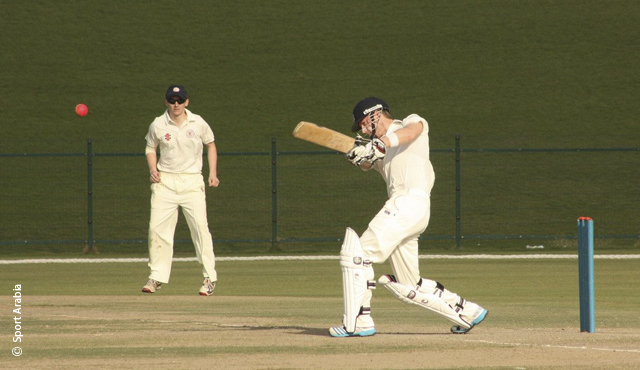 MCC Universities in their first match of the 2014 tour, against MCC YCs