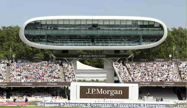 Commentary will take place in the JP Morgan media centre