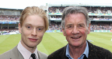 Freddie Fox and Michael Palin