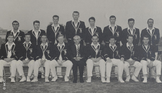 MCC touring party to India, 1964