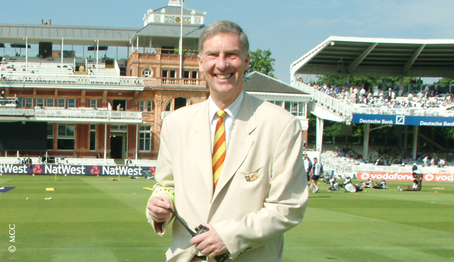 Roger Knight during his time as MCC Secretary & CEO