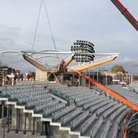 the new warner stand roof