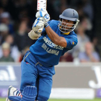 Sri Lankan wicket-keeper Kumar Sangakkara made 112 off 104 balls - his first century at the Home of Cricket