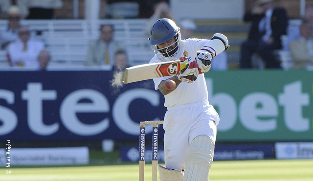 Kaushal Silva hit a half-century on Day Two