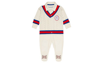 small 2016 Lords Baby Cricketer Romper Suit
