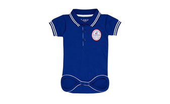 small 2016 Lords Polo Collar Baby Body Suit