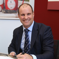 Andrew strauss at Lord's