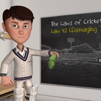 Laws of Cricket animations